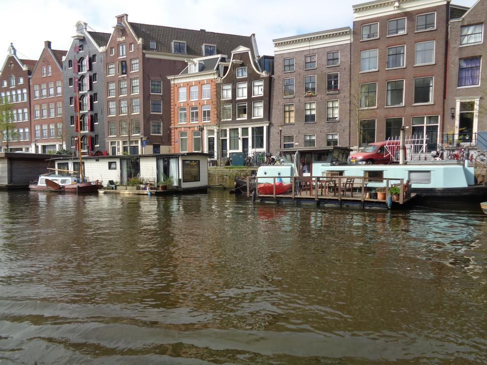 Download Free Stock HD Photo of Amsterdam Canals Online