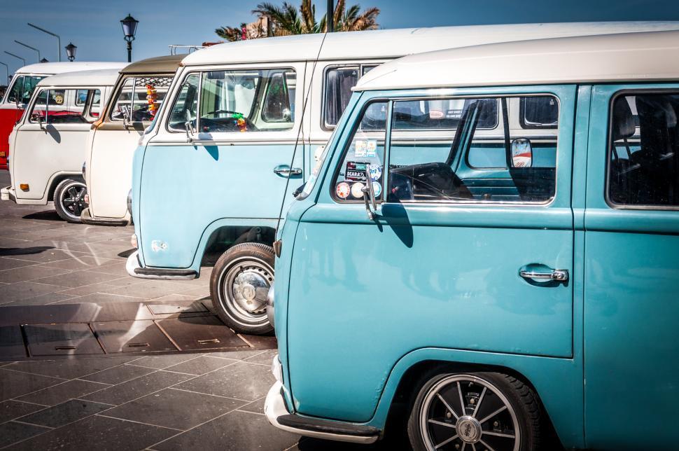 Download Free Stock HD Photo of volkswagen bus Online