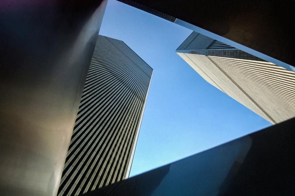 Free image of Abstract; World Trade Center, New York City