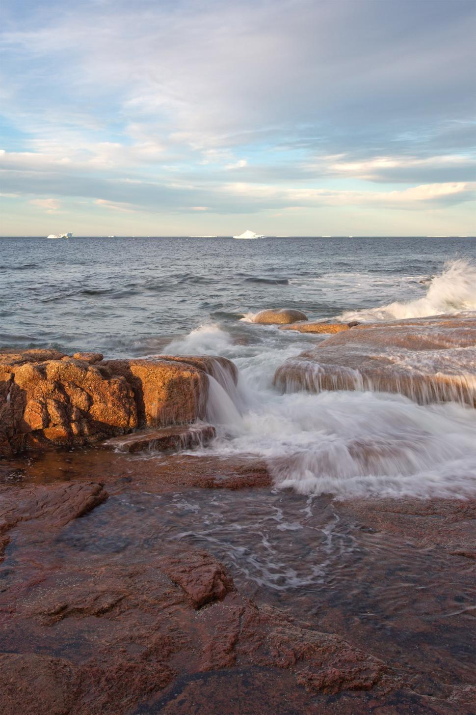 Download Free Stock HD Photo of Long exposure seascape Online