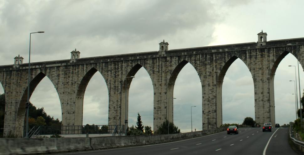 Download Free Stock HD Photo of Aguas Livres Aqueduct Online