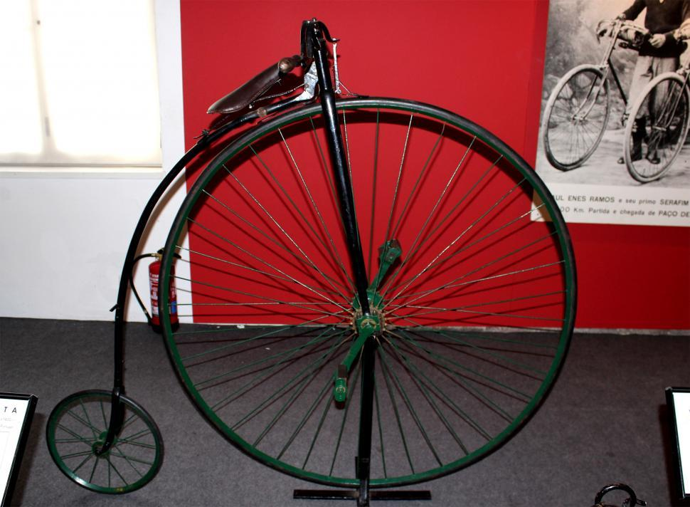 Download Free Stock HD Photo of Antique Bicycle - 19th-century Online