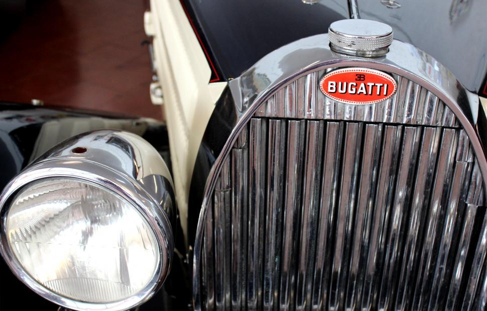 Download Free Stock HD Photo of Classic Bugatti 57C Atalante 1938 - Front Detail Online