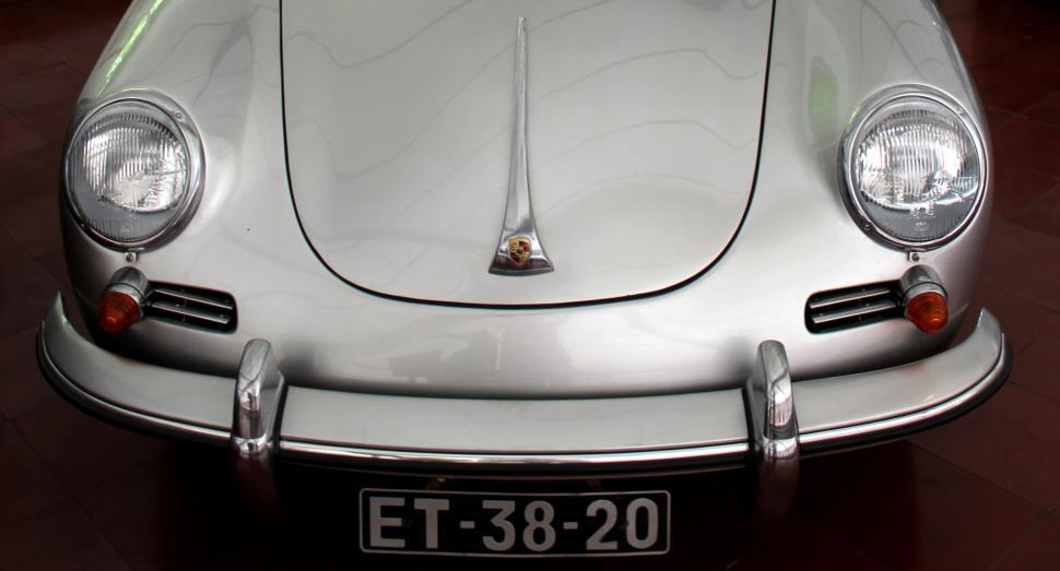 Download Free Stock HD Photo of Classic Car Detail - Porsche 356B 1600 Super 90 Online
