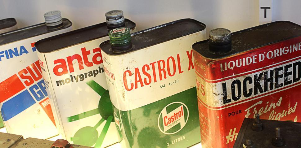 Download Free Stock HD Photo of Classic Oil Cans Online