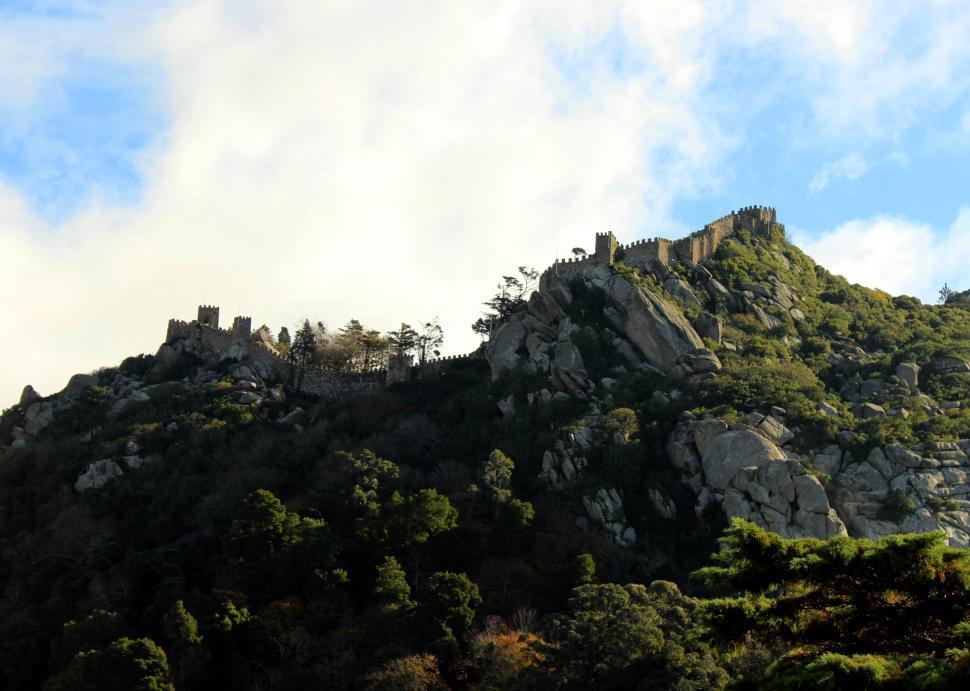Download Free Stock HD Photo of Moorish Castle in Sintra Online