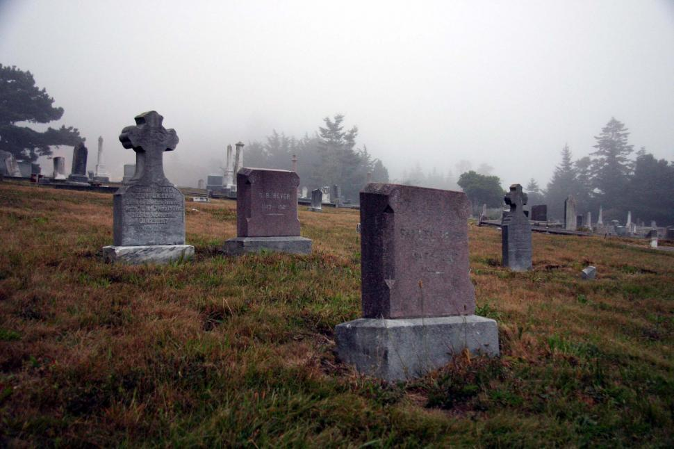 Download Free Stock HD Photo of Cemetery headstones Online