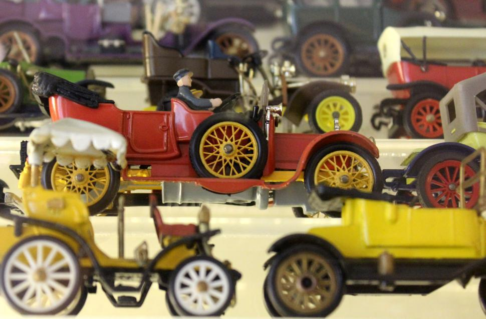 Download Free Stock HD Photo of Vintage Toys 1950s - Antique Cars Online