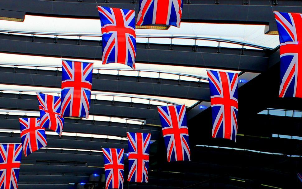 Download Free Stock HD Photo of Union Jack Flags Online