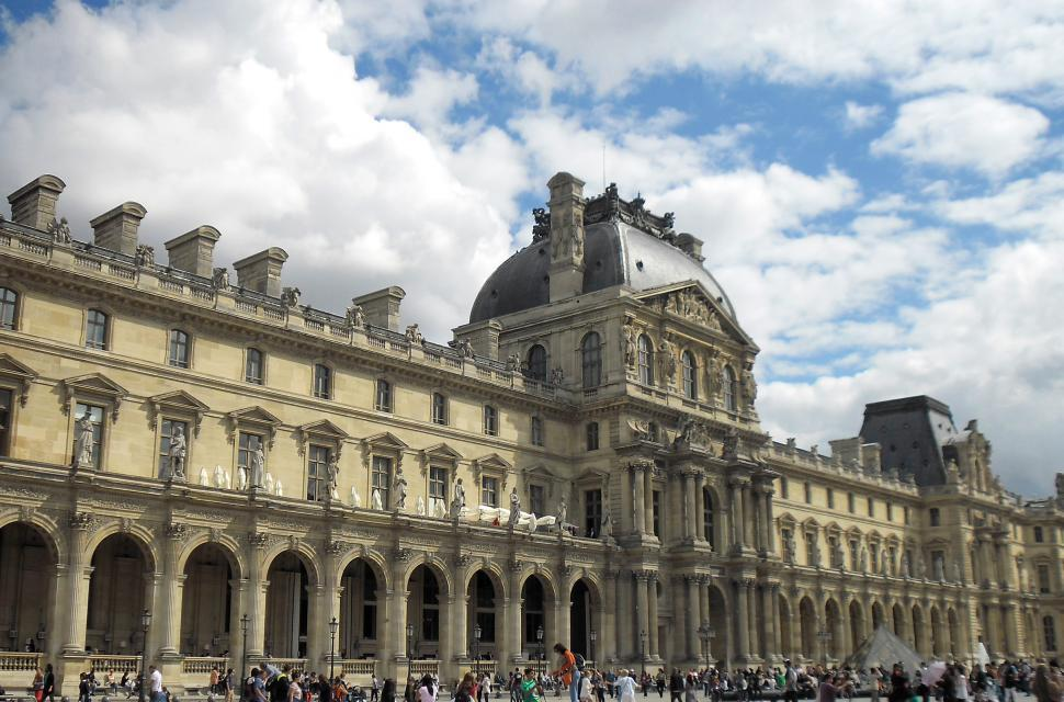 Download Free Stock HD Photo of Louvre Museum in Paris - France Online