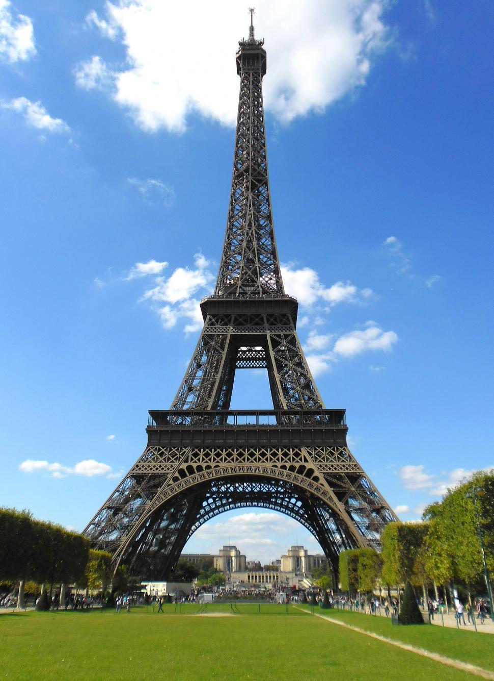Download Free Stock HD Photo of The Eiffel Tower in Paris - France Online