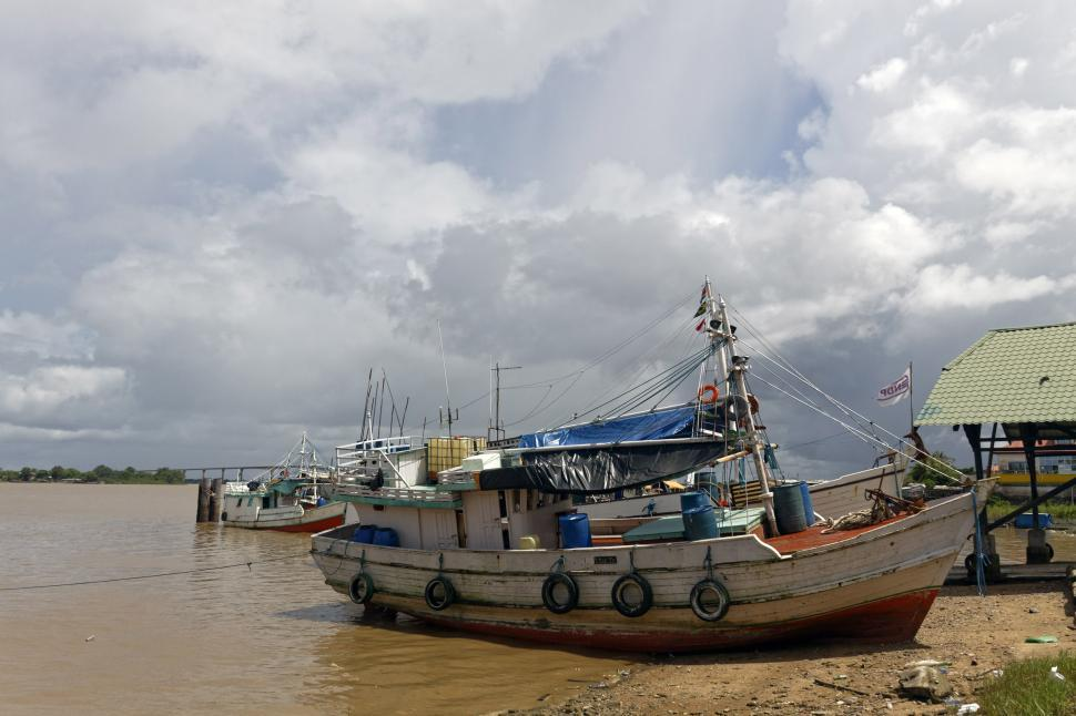 Download Free Stock HD Photo of Fishing Trawler Online