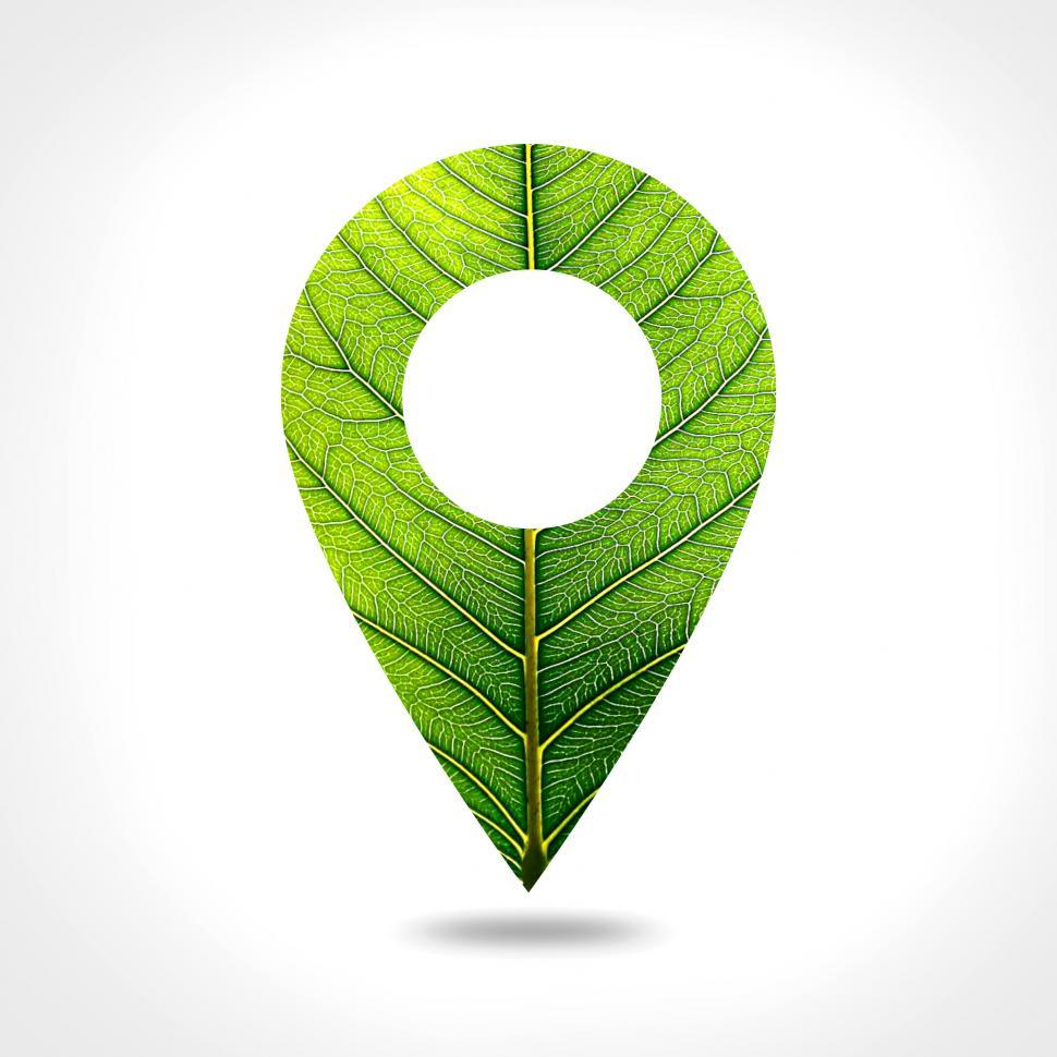 Download Free Stock HD Photo of Marker Icon - Green Concept Online