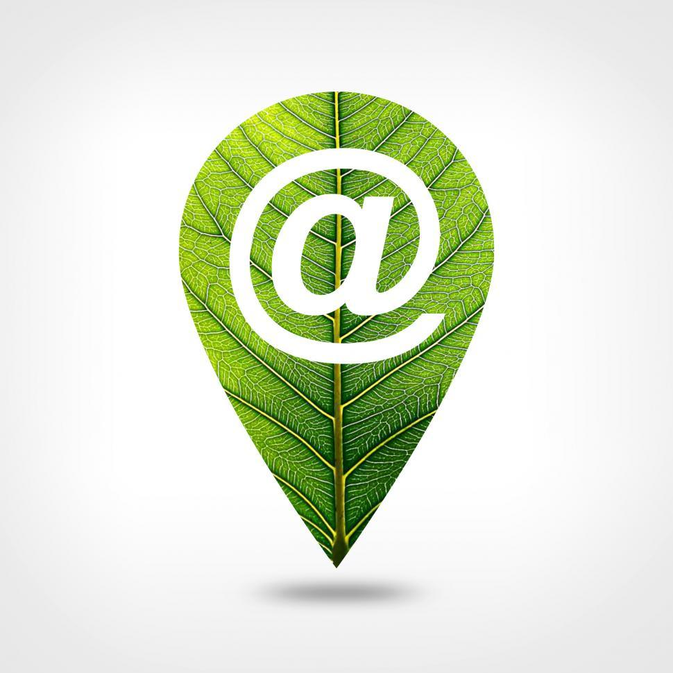 Download Free Stock HD Photo of Marker Icon - Green Communication  Online