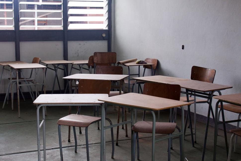 Download Free Stock HD Photo of Empty classroom Online