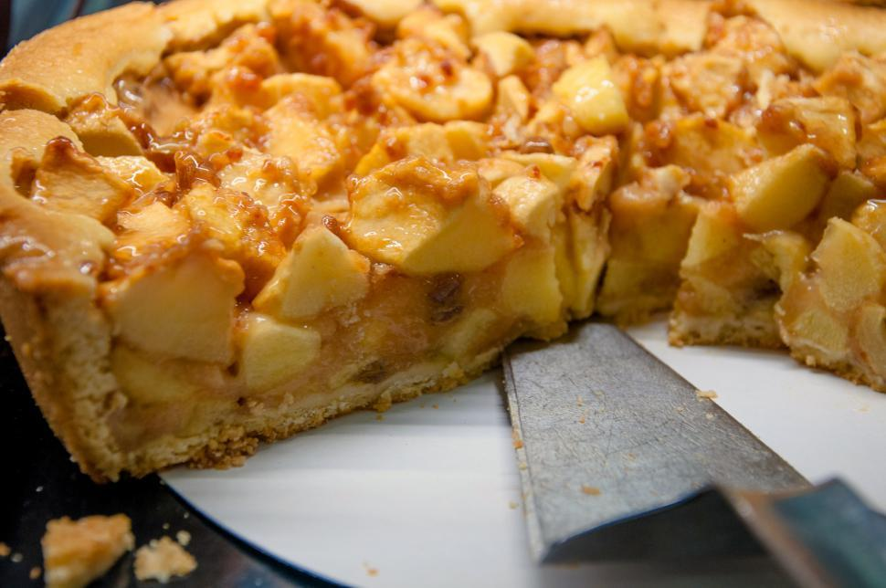 Download Free Stock HD Photo of homemade apple pie Online