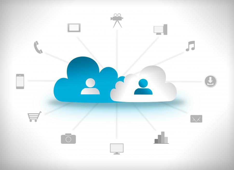 Download Free Stock HD Photo of Cloud Computing Concept Online