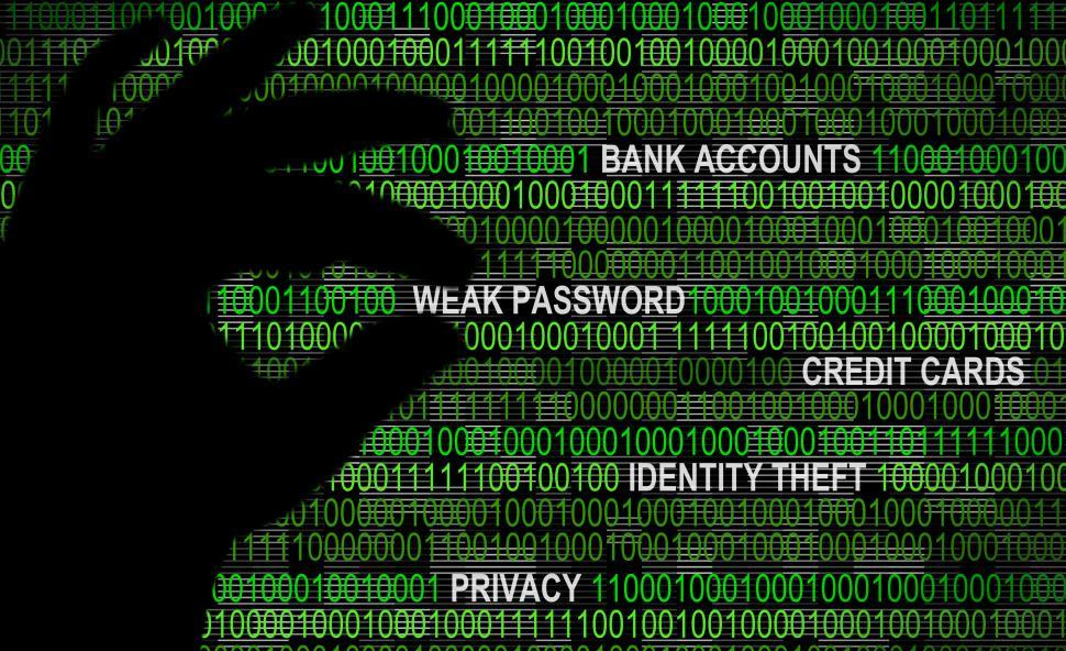 Download Free Stock HD Photo of Cybersecurity - Weak Password Concept Online
