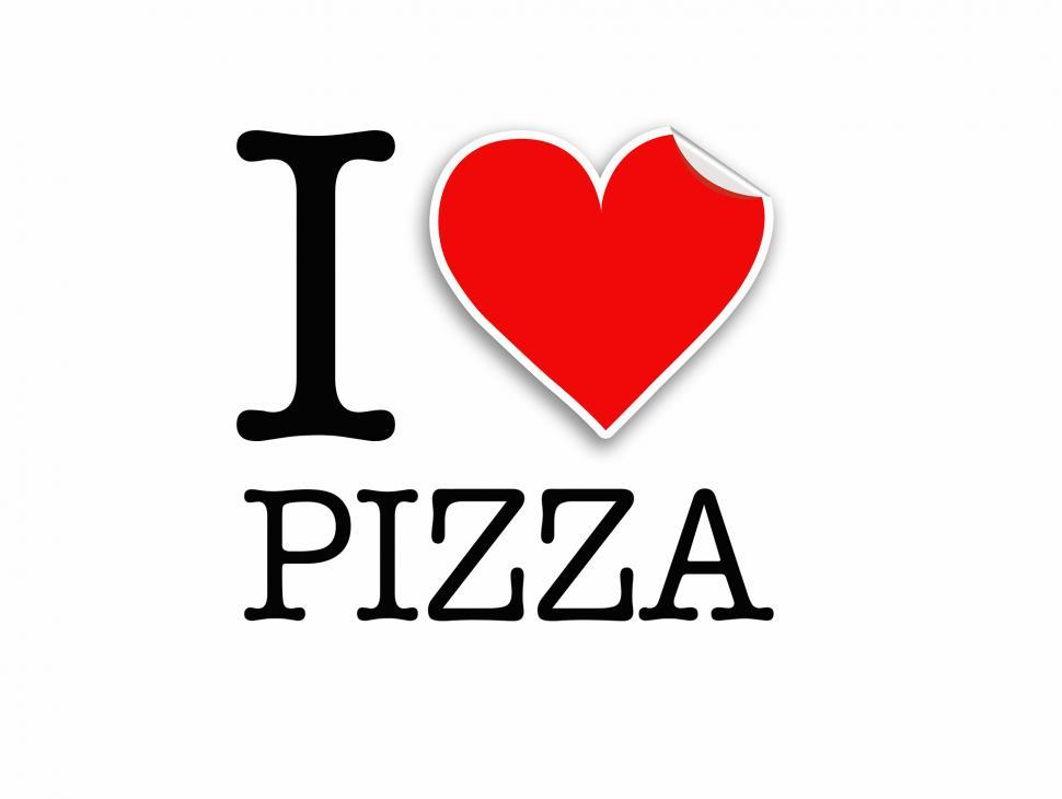 get free stock photos of i love pizza vector clipart online