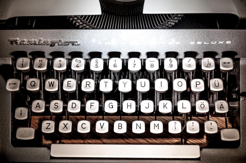 Download Free Stock HD Photo of Vintage manual typewriter Online