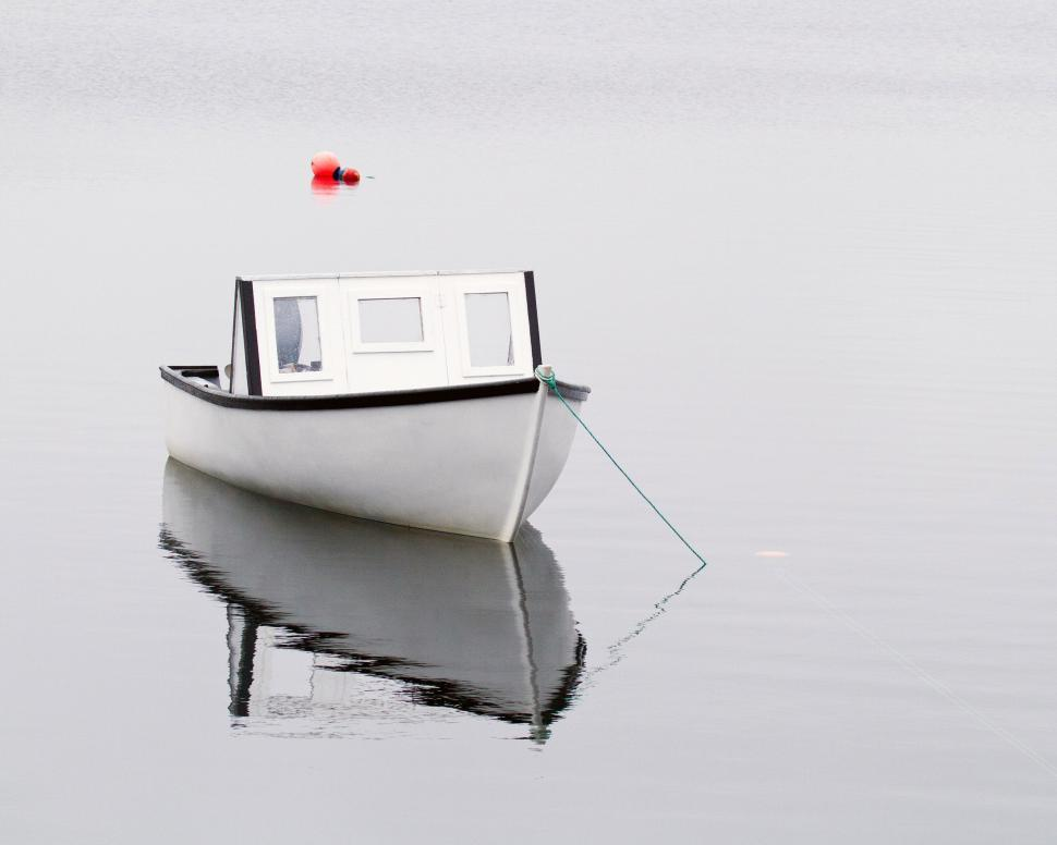 Download Free Stock HD Photo of Boat Reflection Online