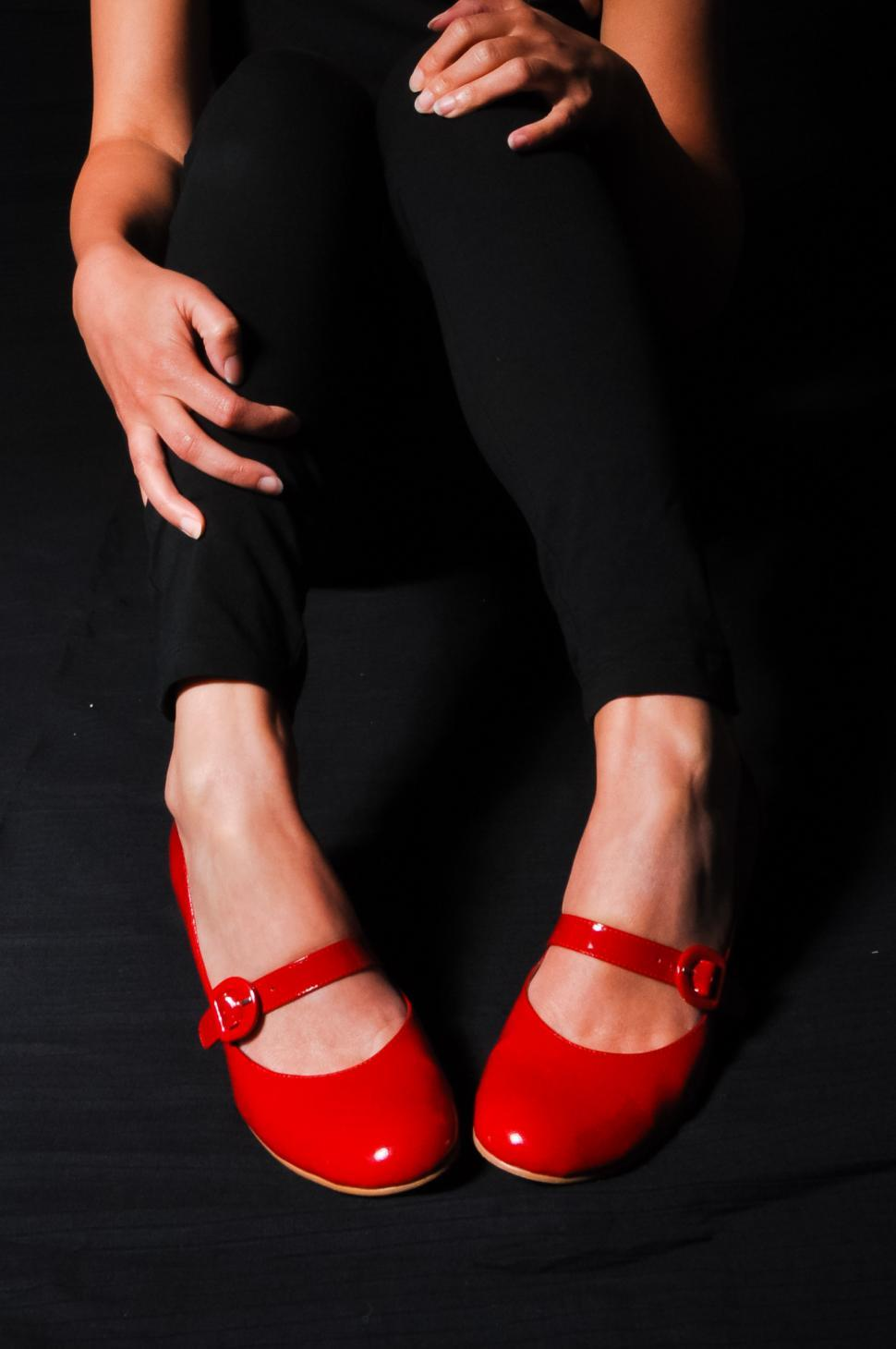 Download Free Stock HD Photo of woman legs in red high heel shoes  Online