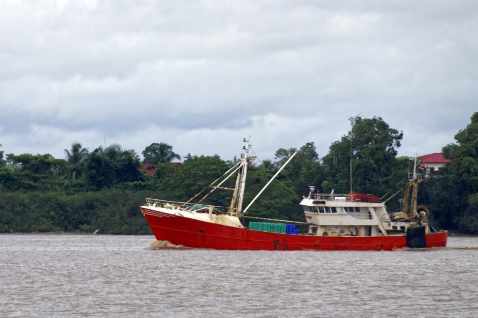 Download Free Stock HD Photo of Fishing trawler Online