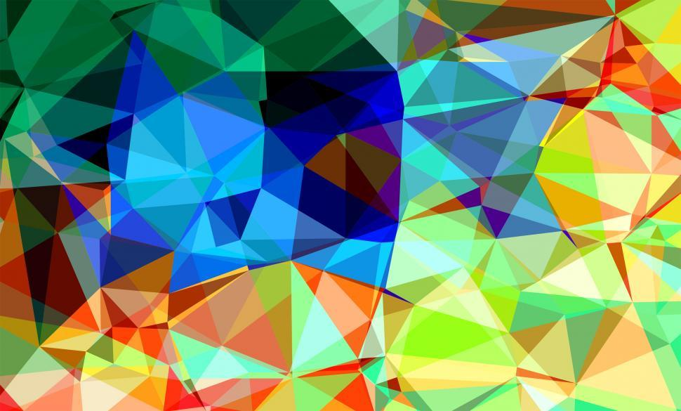 Download Free Stock HD Photo of Abstract Geometric Pattern with Triangles Online
