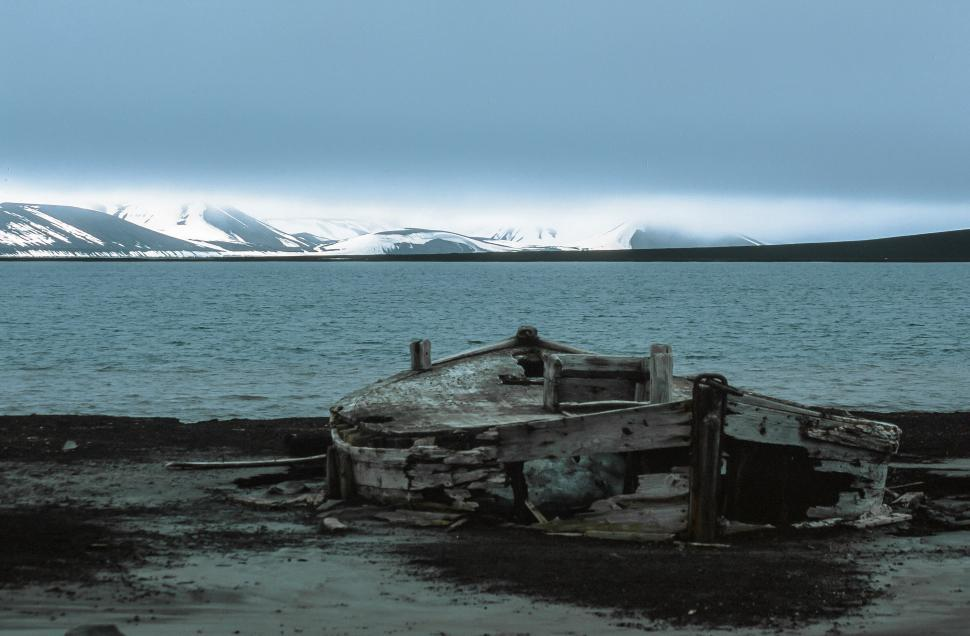 Download Free Stock HD Photo of Expedition boat In Antarctica Online