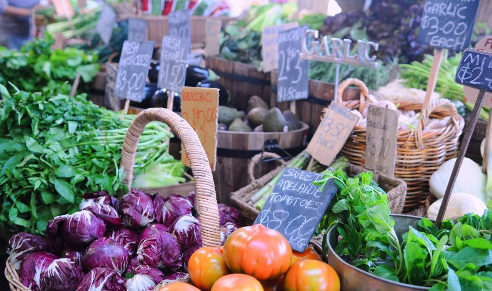 Download Free Stock HD Photo of Farmers Market Online
