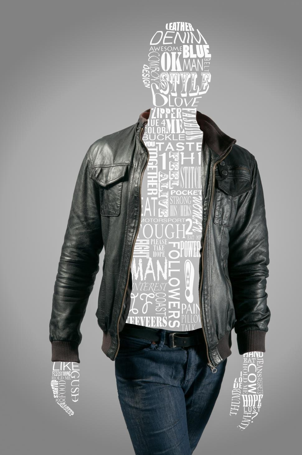 Download Free Stock HD Photo of Fashion word cloud man Online
