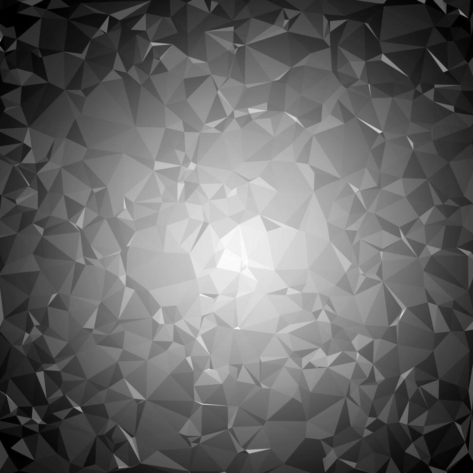 Download Free Stock HD Photo of Dark triangle pattern background Online