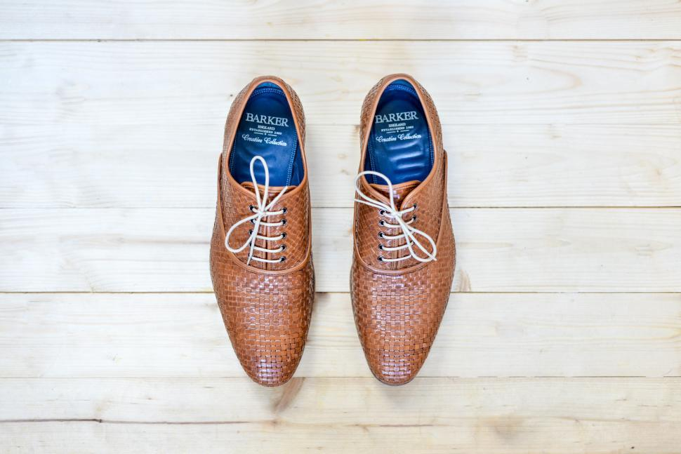 Download Free Stock HD Photo of Stylish brown shoes Online