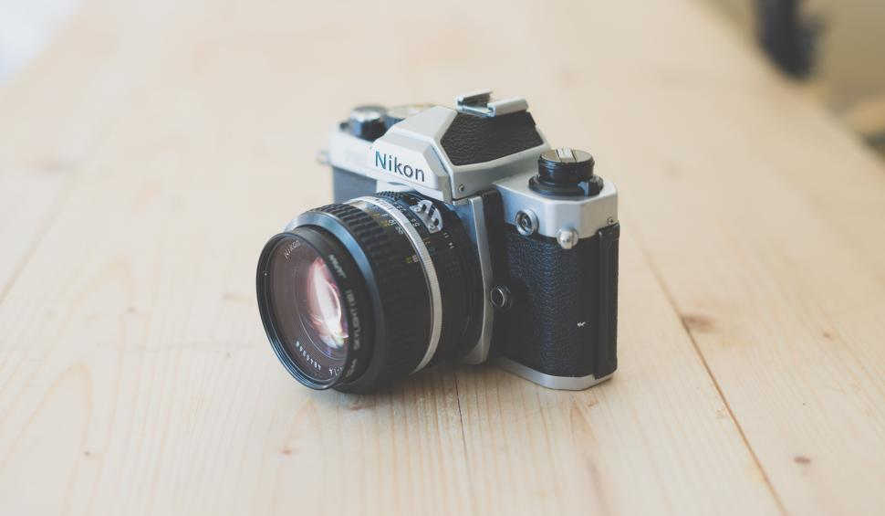 Download Free Stock HD Photo of SLR Camera Online