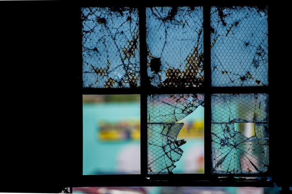 Download Free Stock HD Photo of Broken windows Online