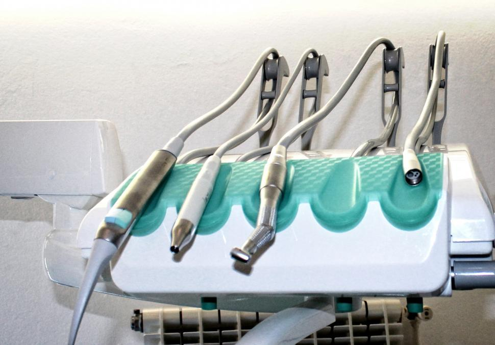 Download Free Stock HD Photo of Set of dentist equipment - Medical equipment Online