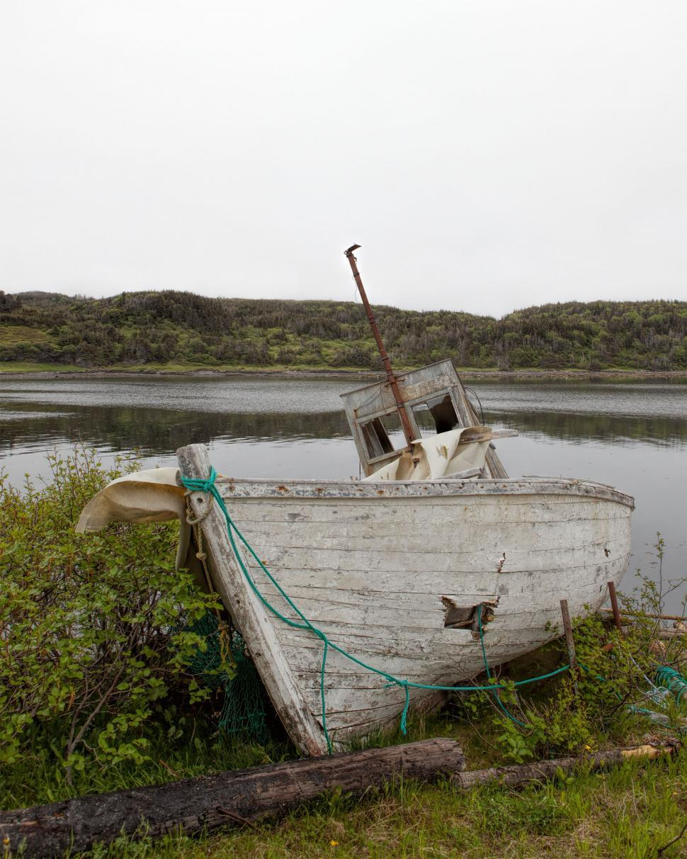 Download Free Stock HD Photo of Abandoned Boat Online