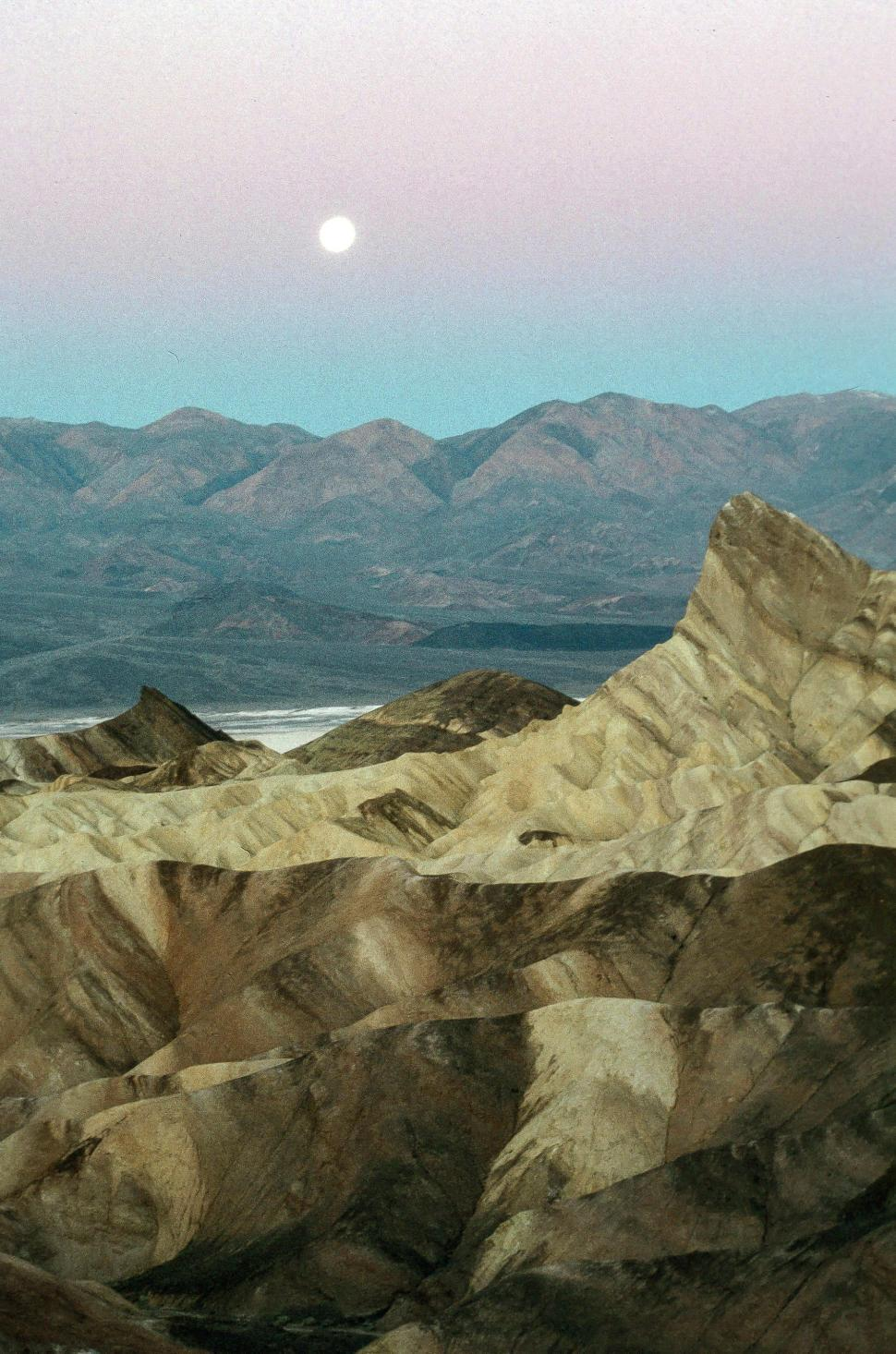 Download Free Stock HD Photo of Zabriskie Point in Death Valley National Park, California Online