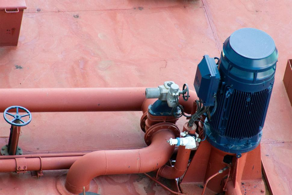Download Free Stock HD Photo of Large pump for Pumping Oil Online