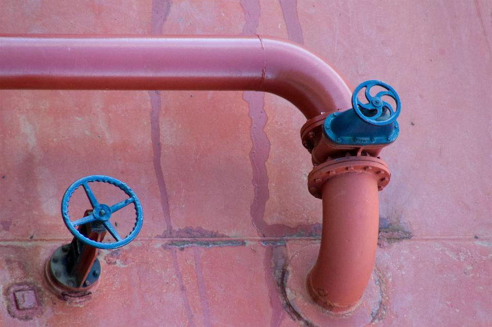 Download Free Stock HD Photo of Valves and Pipeline from Tank Online