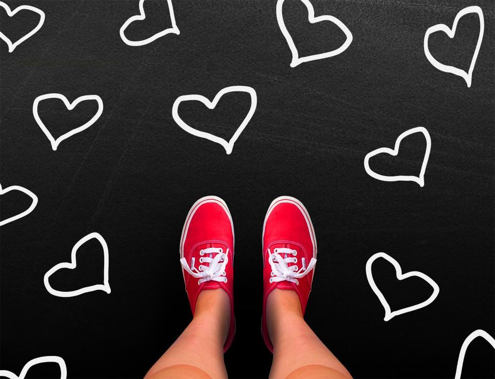 Download Free Stock HD Photo of Love is red - Valentines day concept Online