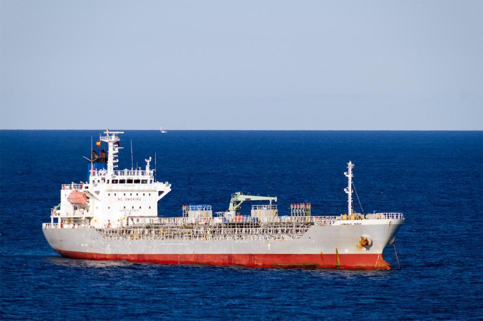 Download Free Stock HD Photo of Oil Tanker Moored Online