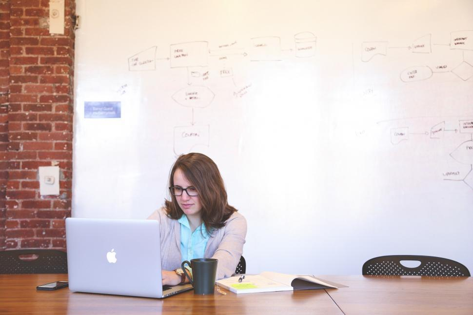 Download Free Stock HD Photo of Female developer Online