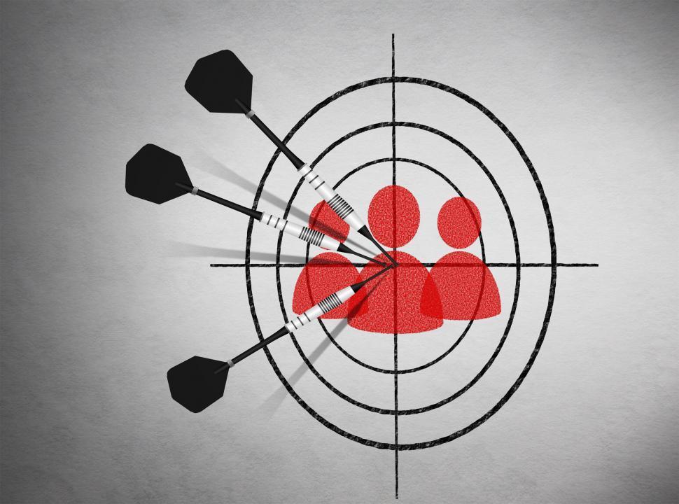 Marketing - Target groups concept