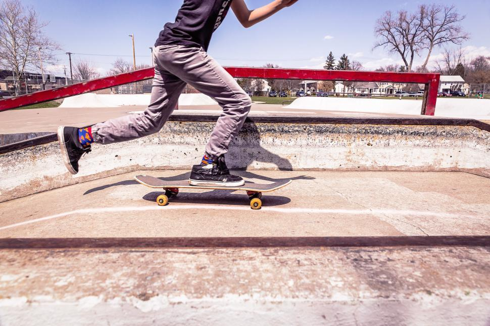 Download Free Stock HD Photo of Skateboarding Online