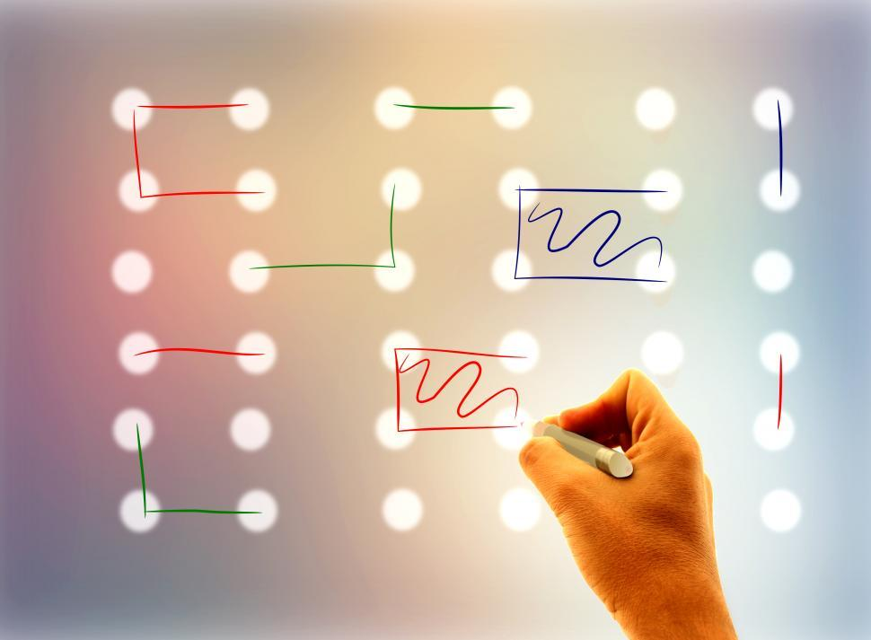 Download Free Stock HD Photo of Joining the dots - Problem-solving concept Online