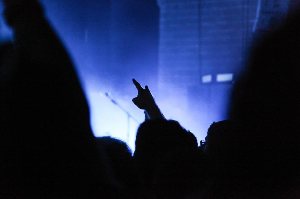 Download Free Stock HD Photo of Concert crowd Online