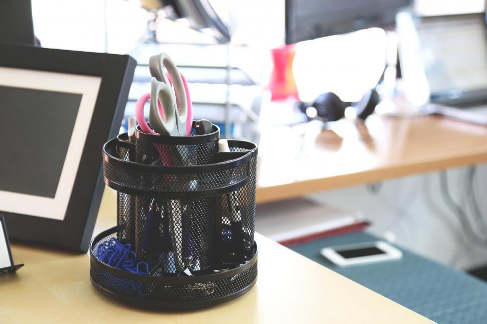 Download Free Stock HD Photo of Desk accessories Online