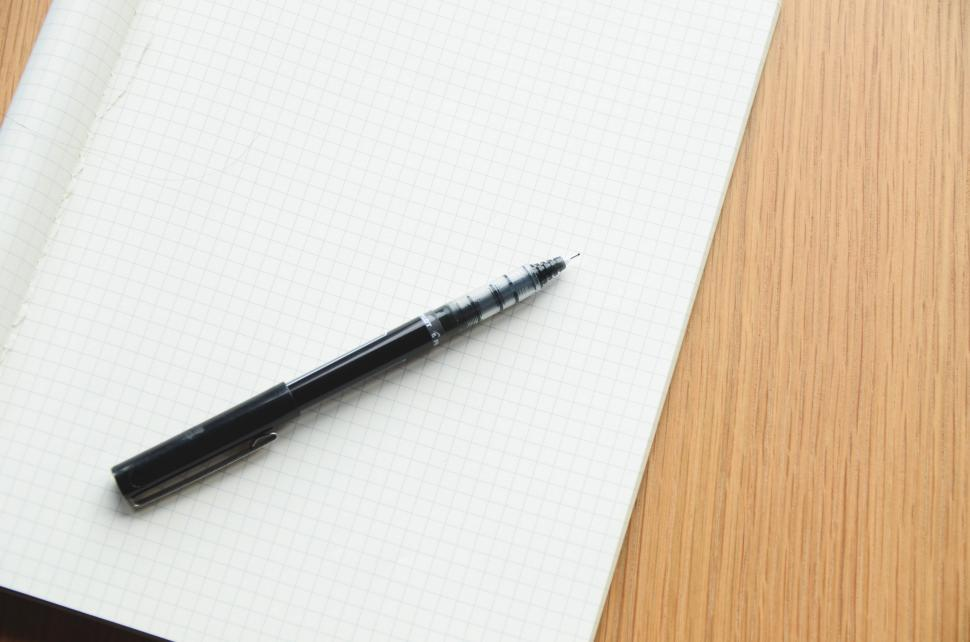 Download Free Stock HD Photo of Pen and pad Online