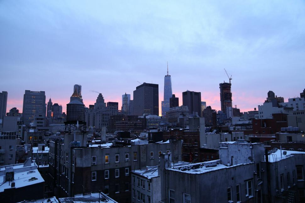 Download Free Stock HD Photo of New York sicty skyline Online
